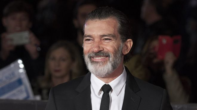 Banderas attended the closing ceremony of the 20th Malaga Film Festival