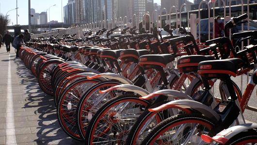 China's colorful bike wars heat up with more wheels on the road